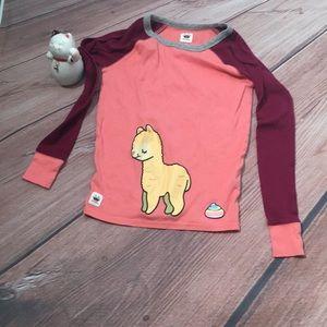 Toca Boca Llama Sleep Pajama Shirt